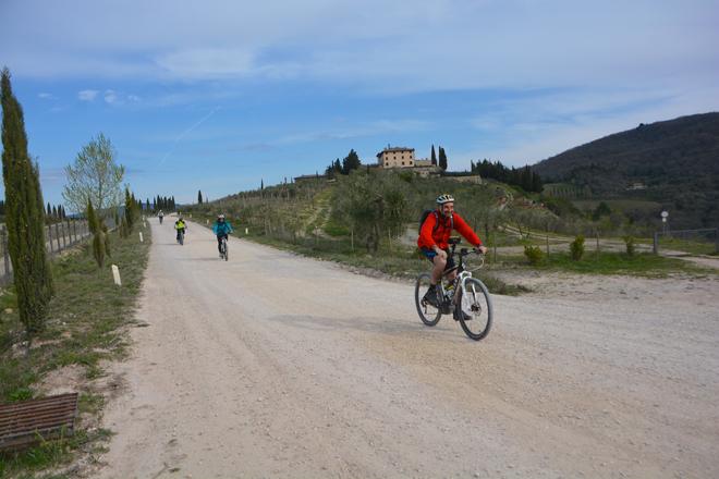 """Sul bellissimo percorso de """"Il Classico E-Bike"""""""