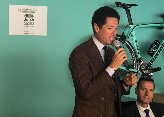 Matteo Marzotto, Ambassador del Premio Urban Award