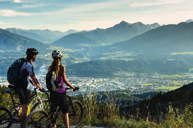 In E-Bike a Innsbruck