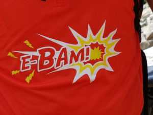 Il logo di E-BAM